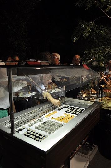 Mostrador catering